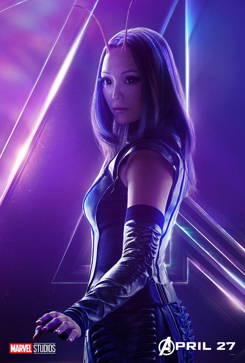 Mantis Avengers Infinity War Poster