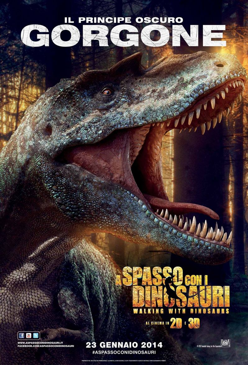 Gorgone Walking With Dinosaurs Poster