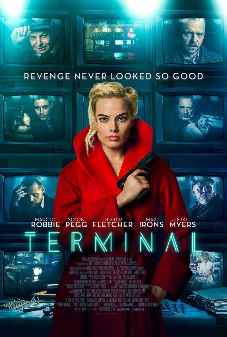 <strong><em>Terminal</em></strong> Poster Margot Robbie
