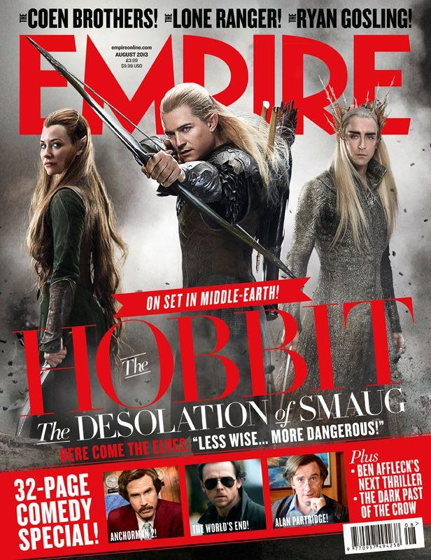 <strong><em>The Hobbit: The Desolation of Smaug</em></strong> Empire Magazine Cover 1
