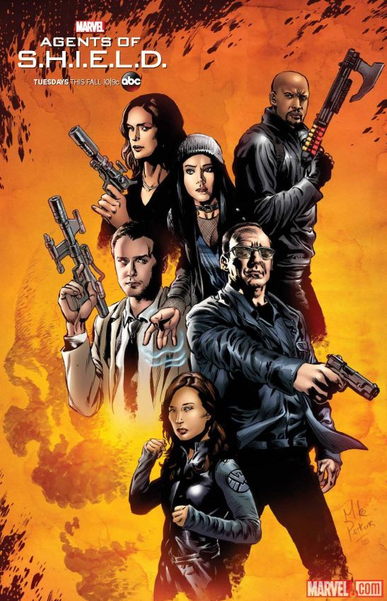 Agents of S.H.I.E.L.D. Season 4 Artwork 1