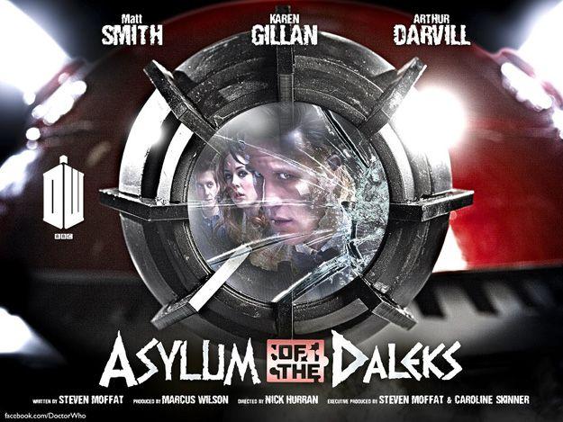 <strong><em>Doctor Who</em></strong> Asylum of the Daleks Promo Art