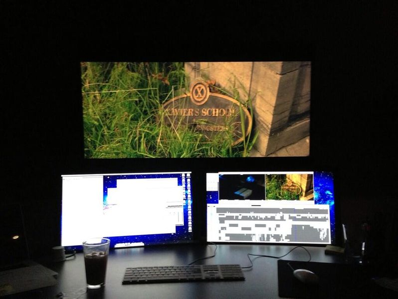<strong><em>X-Men: Days of Future Past</em></strong> Editing Bay Photo