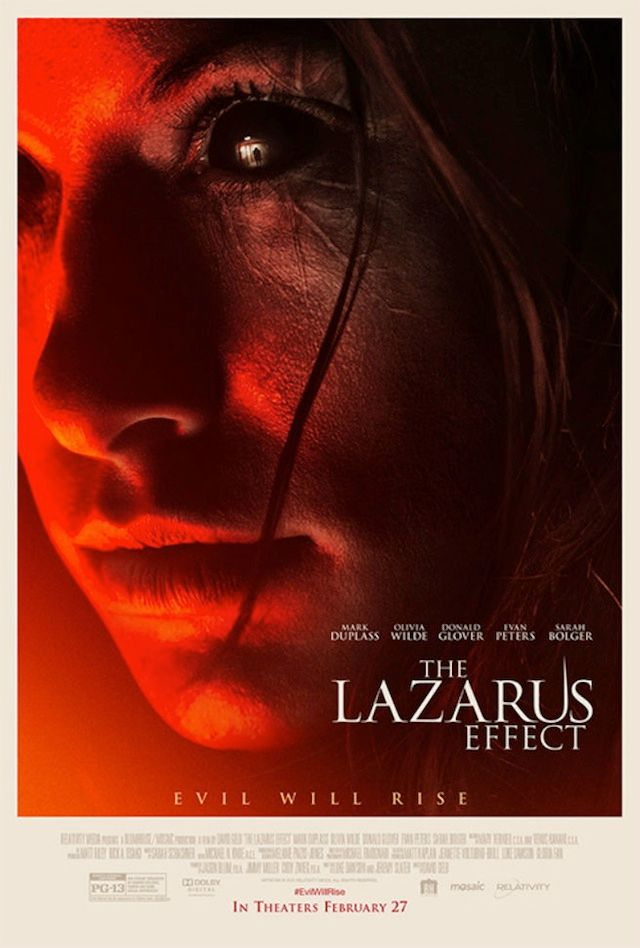 <strong><em>The Lazarus Effect</em></strong> Poster