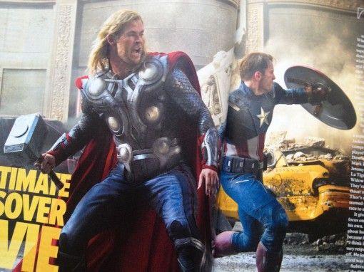 The Avengers Empire Magazine Photo