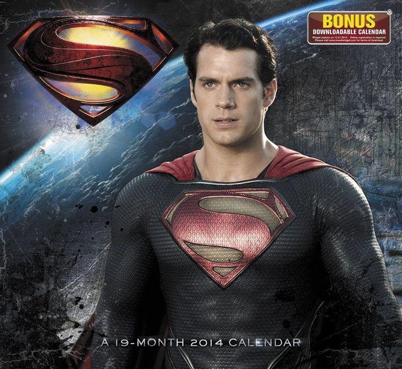 <strong><em>Man of Steel</em></strong> Wall Calendar 1