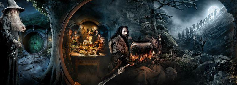 The Hobbit Banner Segment #1