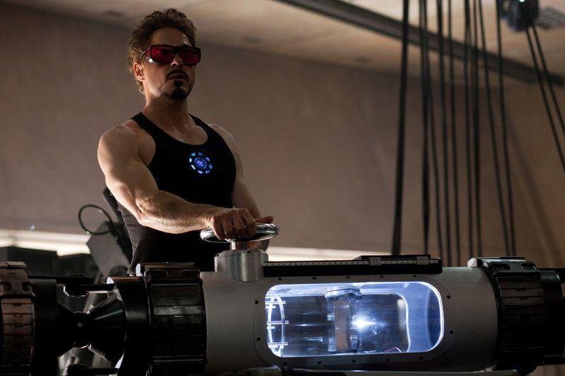 Robert Downey Jr. stars as billionaire industrialist Tony Stark aka Iron Man in <strong><em>Iron Man 2</em></strong>