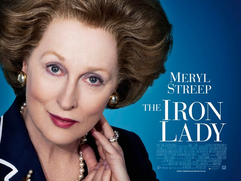 <strong><em>The Iron Lady</em></strong> International Poster