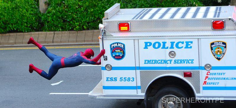 The Amazing Spider-man 2 On Set #2