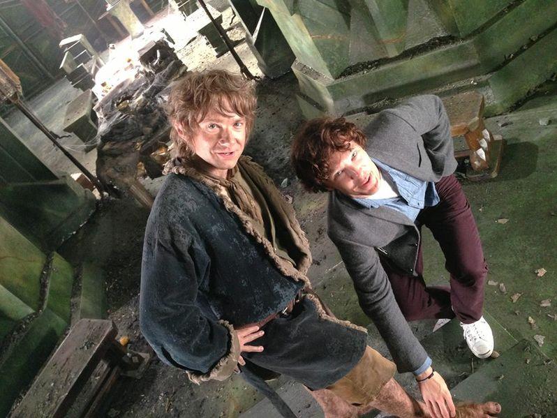 The Hobbit Martin Freeman Wraps Shooting Photo 2