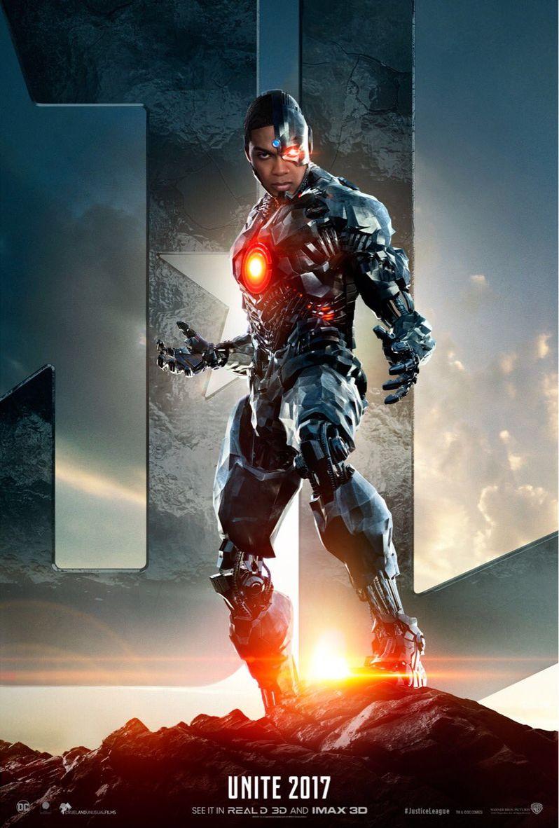 <strong><em>Justice League</em></strong> Cyborg Poster
