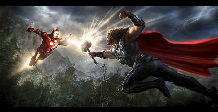 <strong><em>Marvel's The Avengers</em></strong> concept art 6