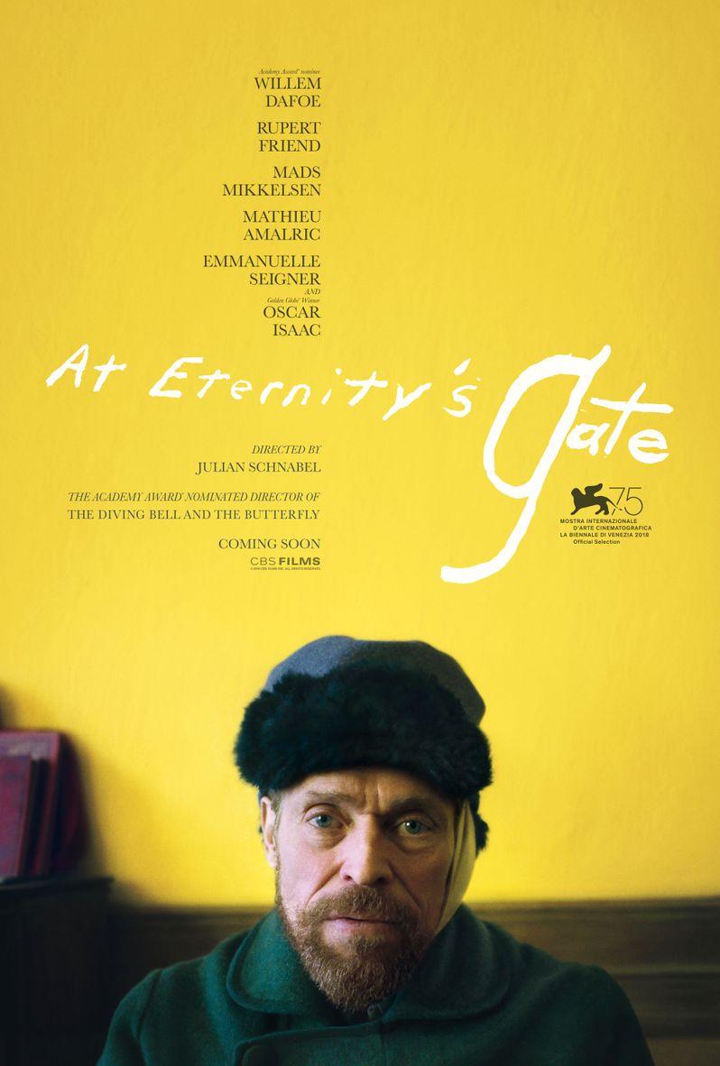 <strong><em>At Eternity's Gate</em></strong> poster