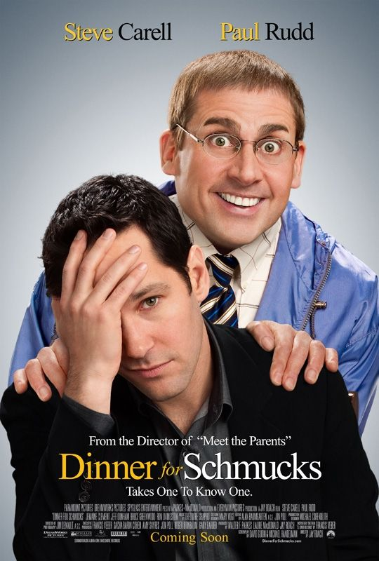 <strong><em>Dinner for Schmucks</em></strong> Poster #2