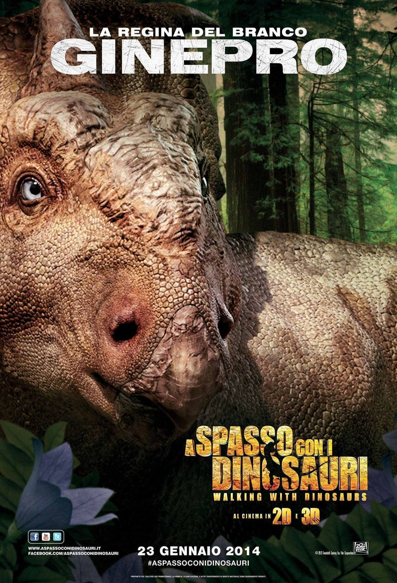 Ginepro Walking With Dinosaurs Poster