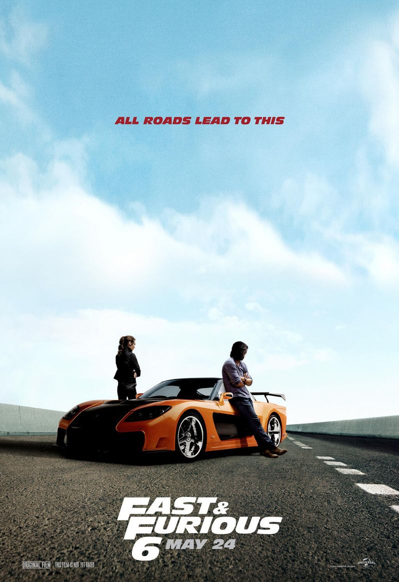 <strong><em>Fast & Furious 6</em></strong> Poster
