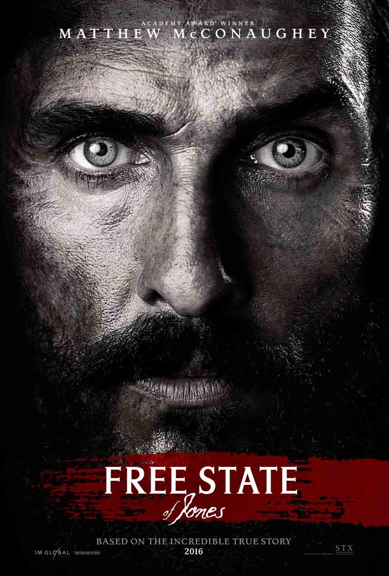 <strong><em>Free State of Jones</em></strong> Poster