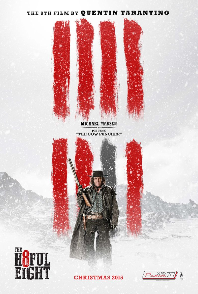 <strong><em>The Hateful Eight</em></strong> Michael Madsen Poster