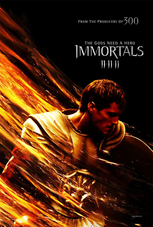 <strong><em>Immortals</em></strong> Poster