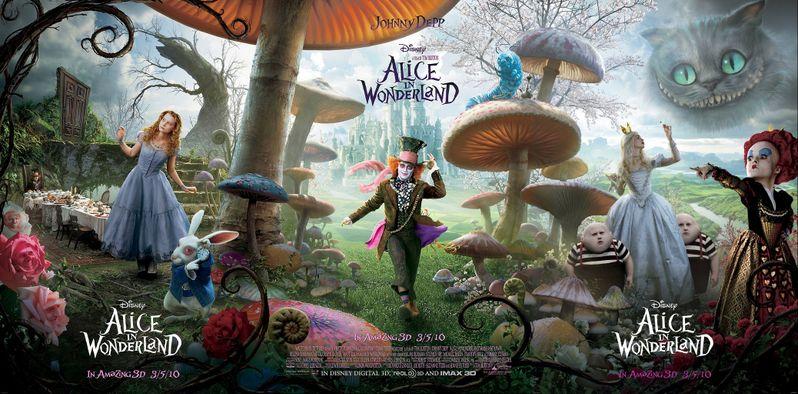 <strong><em>Alice in Wonderland</em></strong> Poster #1