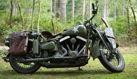 Captain America The First Avenger Harley Davidson #3