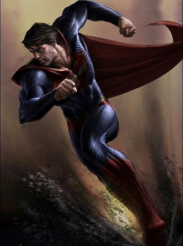<strong><em>Man of Steel</em></strong> Concept Art 1