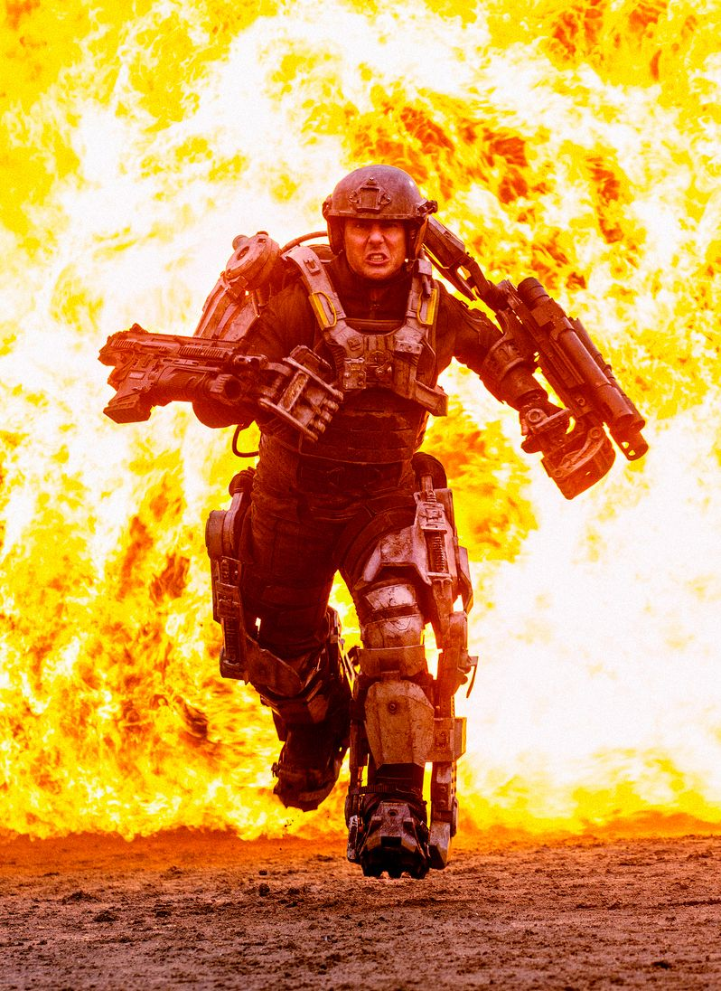 All you Need is Kill Tom Cruise Photo