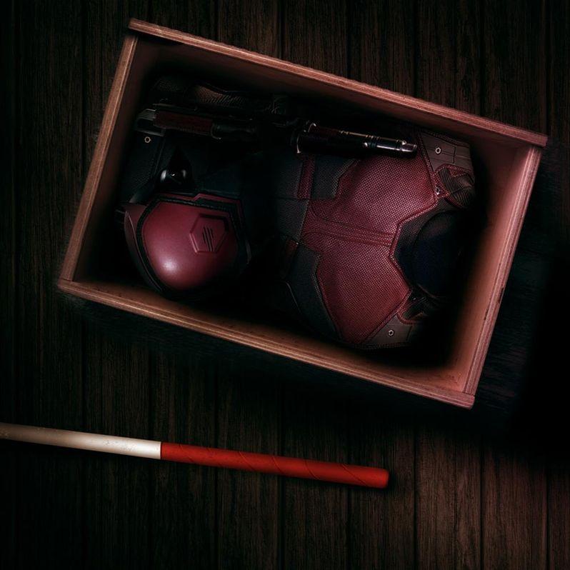 Daredevil Season 2 red costume photo