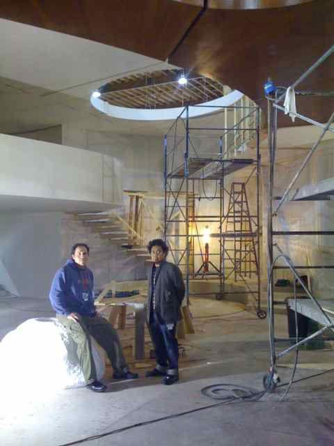 <strong><em>Iron Man 2</em></strong> Production Photo