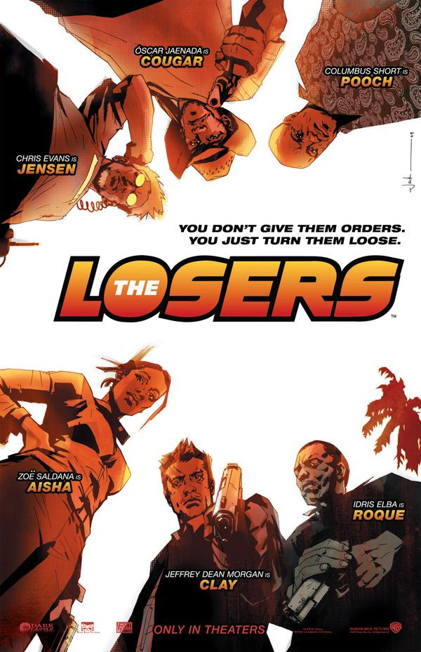 <strong><em>The Losers</em></strong> Comic