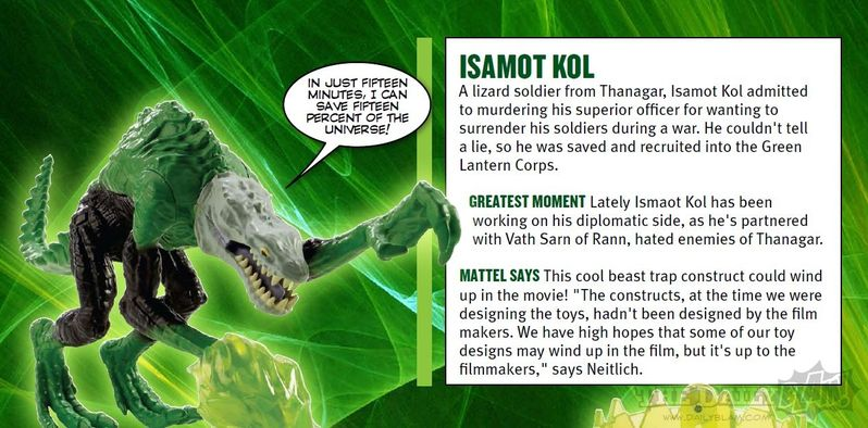 <strong><em>Green Lantern</em></strong> Isamot Kol Action Figure