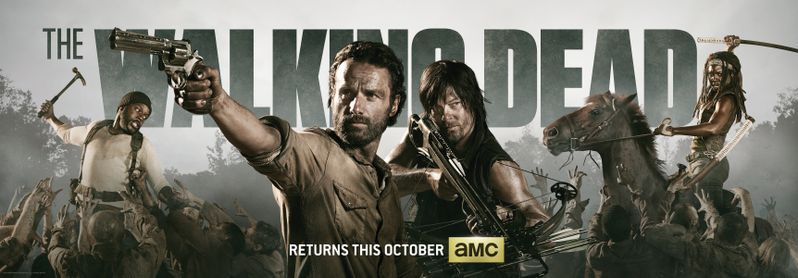 <strong><em>The Walking Dead</em></strong> Season 4 banner