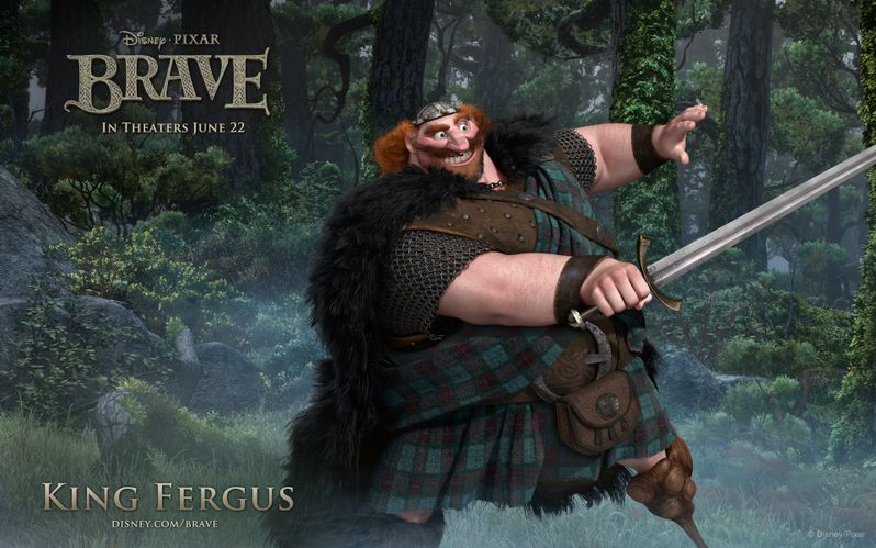 <strong><em>Brave</em></strong> King Fergus Desktop
