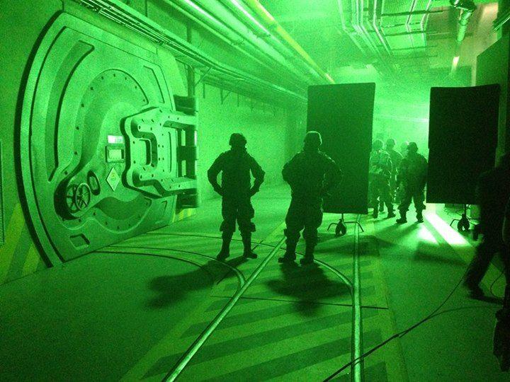 <strong><em>Godzilla</em></strong> Set Photo