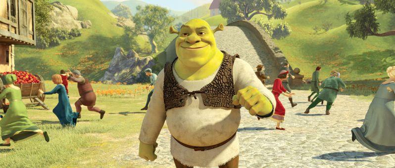 Mike Myers stars as <strong><em>Shrek</em></strong>