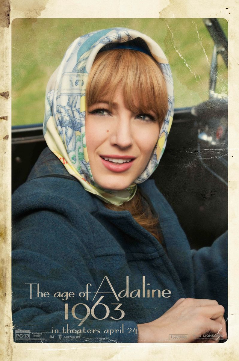 <strong><em>The Age of Adaline</em></strong> 1963 Poster