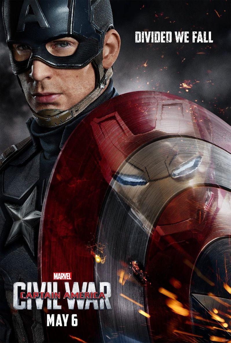 Captain America Civil War Poster #2