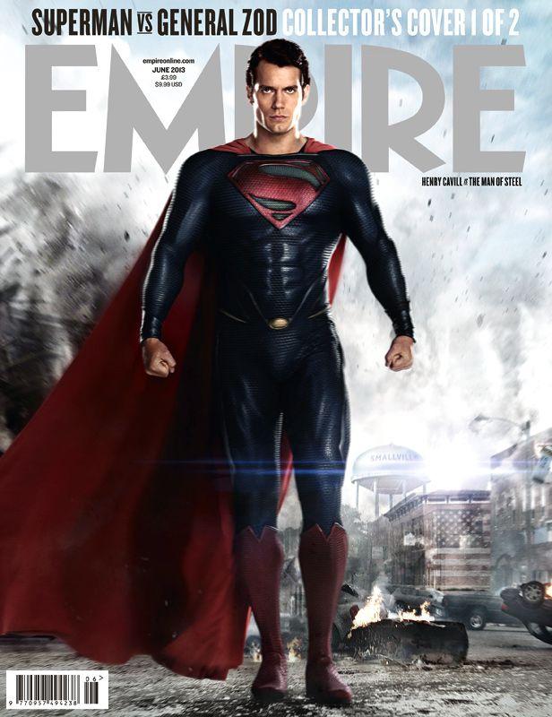 <strong><em>Man of Steel</em></strong> Empire Magazine Cover 3