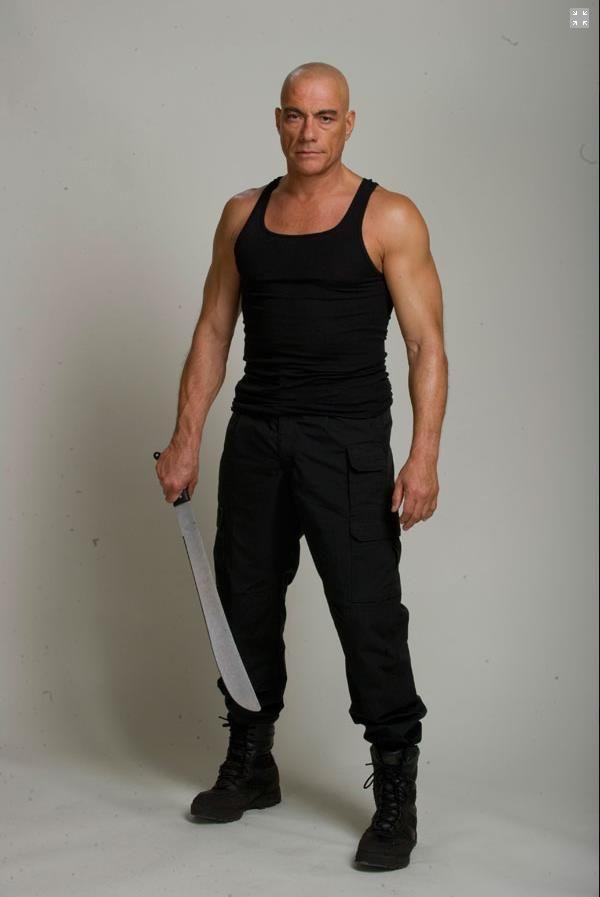 Jean-Claude Van Damme Promo Photo