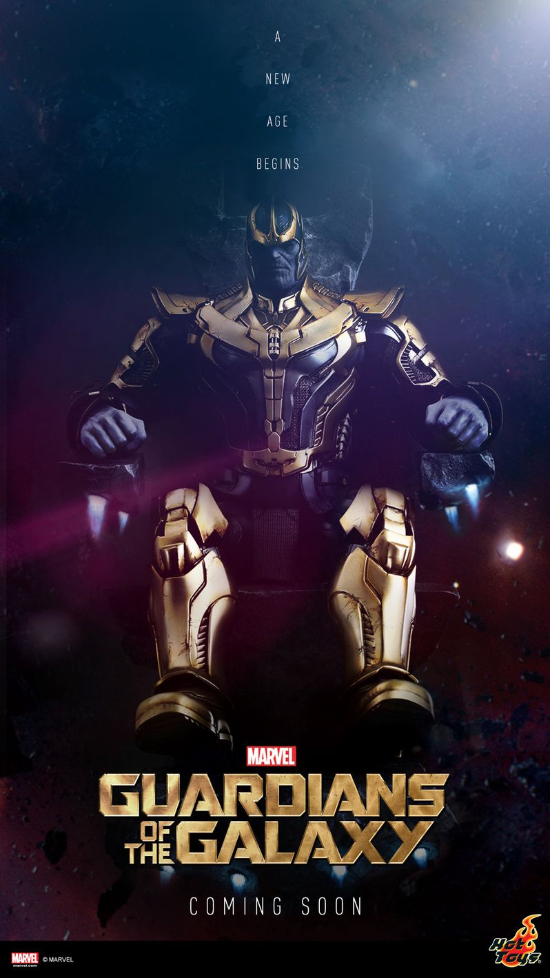 <strong><em>Guardians of the Galaxy</em></strong> Thanos Action Figure Poster
