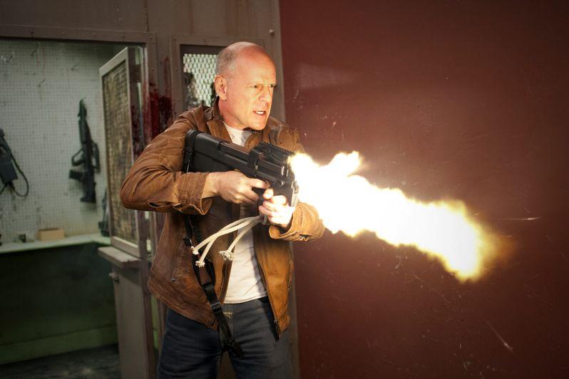 Bruce Willis in <strong><em>Looper</em></strong>