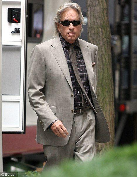 Michael Douglas as Gordon Gekko