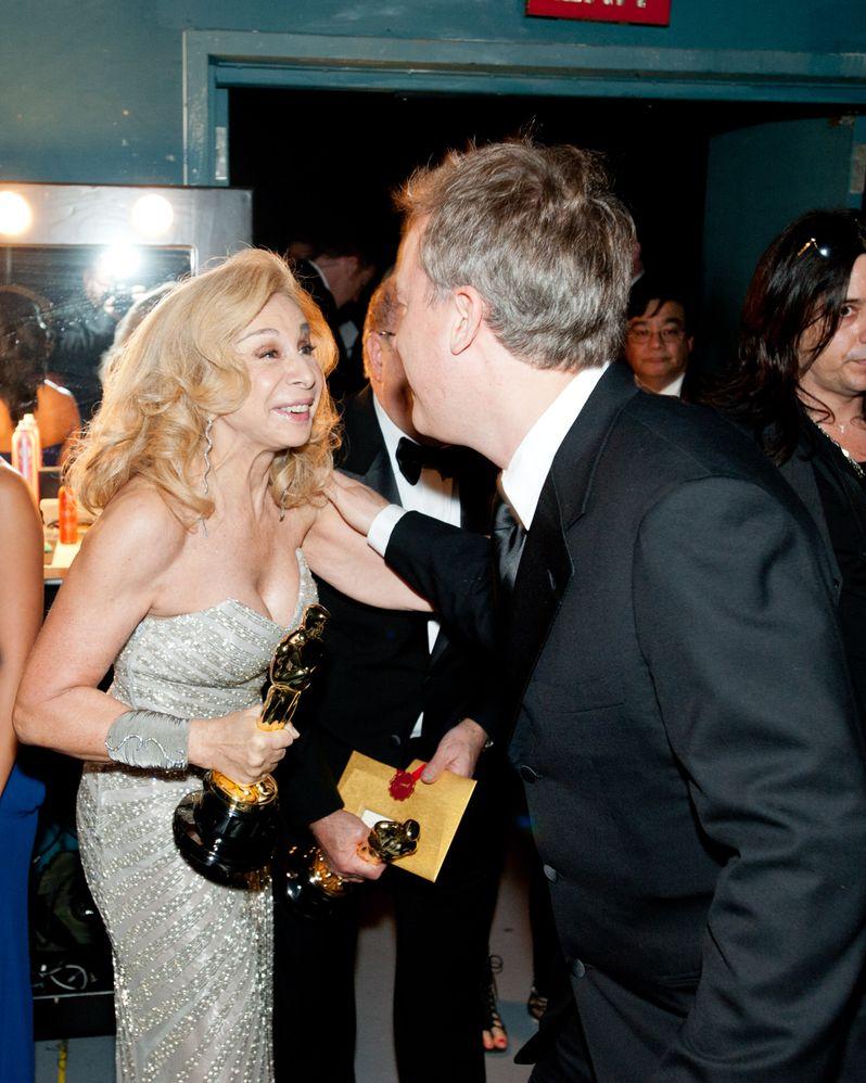 2012 Academy Awards Backstage photo 3