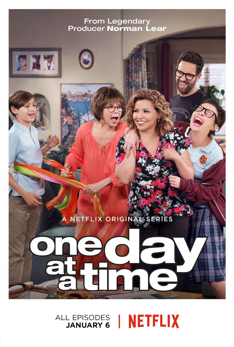 <strong><em>One Day at a Time</em></strong> Netflix Poster