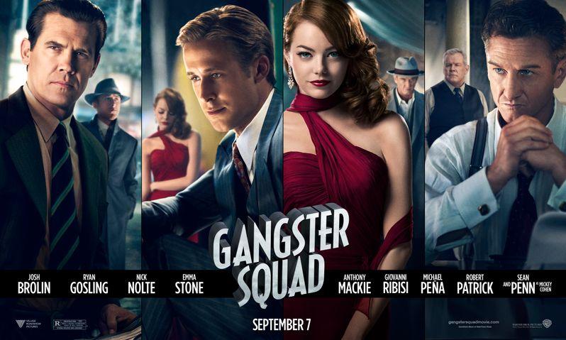 <strong><em>Gangster Squad</em></strong> Banner