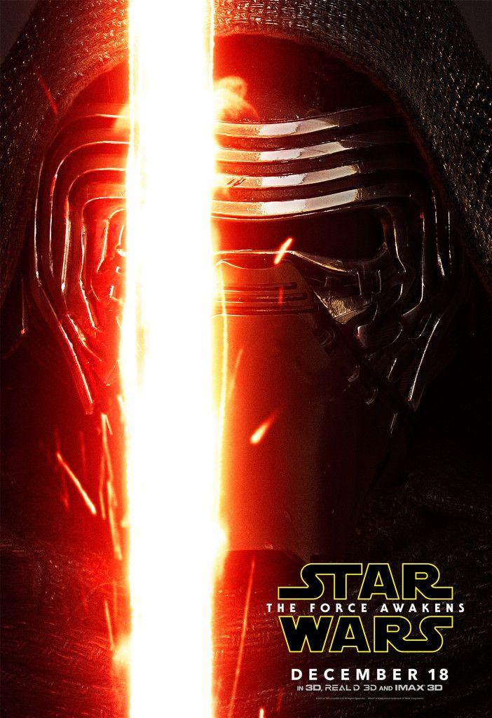Star Wars 7 Character Poster Kylo Ren