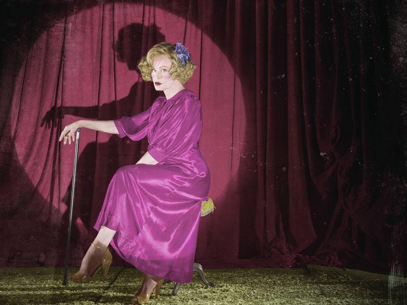 <strong><em>American Horror Story</em></strong> Freak Show Jessica Lange Character Photo