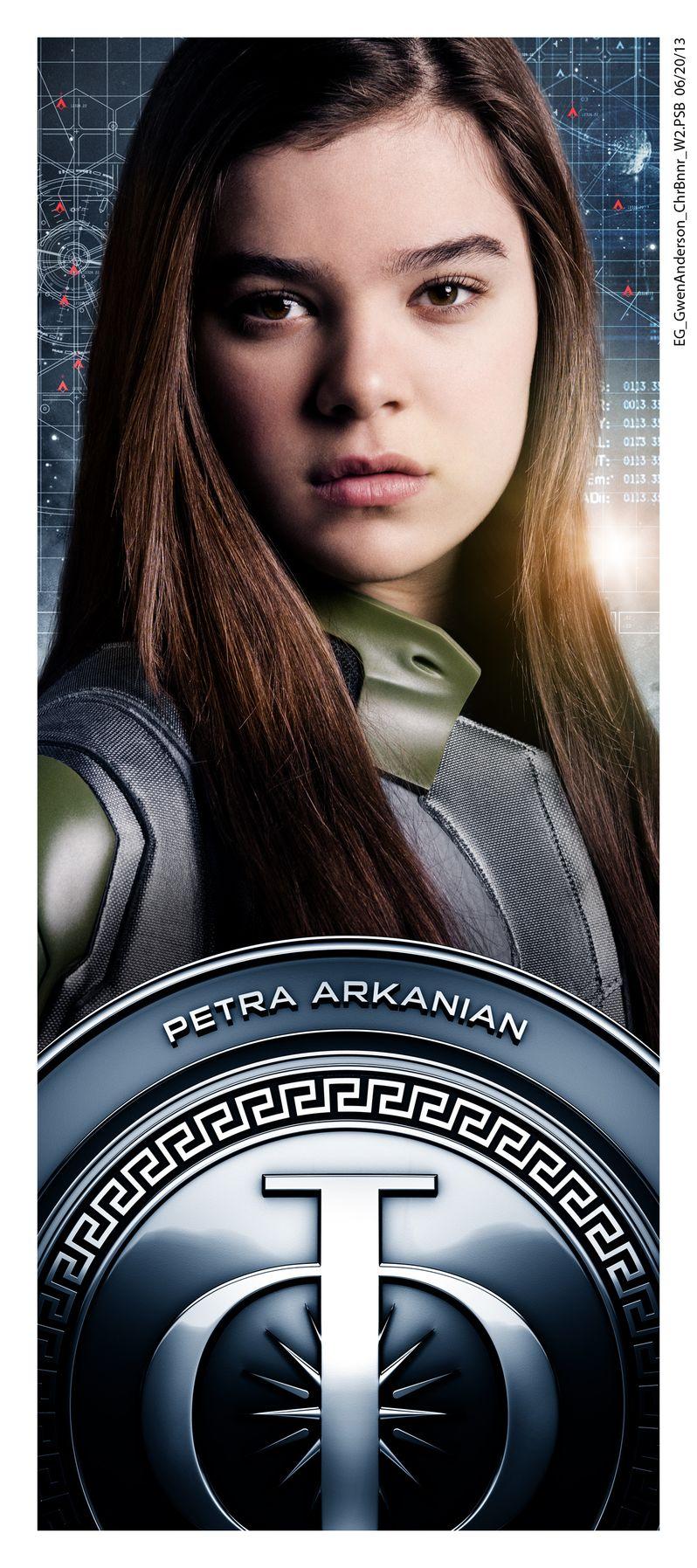 <strong><em>Ender's Game</em></strong> Hailee Steinfeld Character Poster