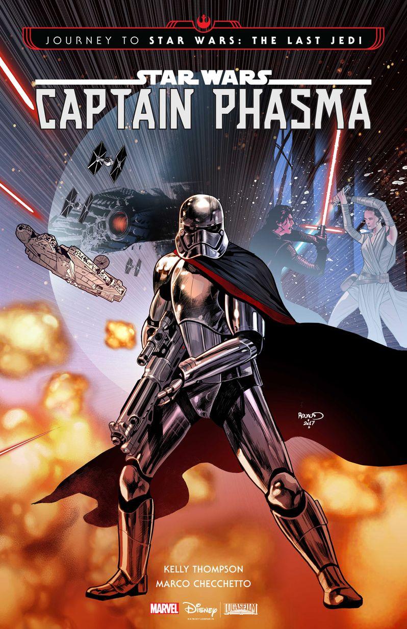 Captain Phasma Comic Book Cover